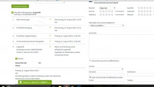 Saal Digital Online bearbeitungs Status